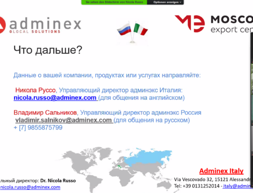 Adminex Italy – Russian companies are expanding